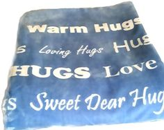 Hugs Single Layer Blanket the Perfect Caring Gift