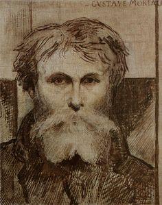 Self-portrait - Gustave Moreau
