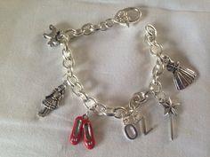 Wizard Of Oz themed charm bracelet