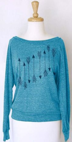 Pi Phi arrow sweatshirt #piphi #pibetaphi