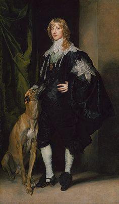 James Stuart (1612–1655), Duke of Richmond and Lennox, ca. 1634–35  Anthony van Dyck (Flemish, 1599–1641)