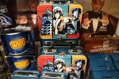 Doctor Who - I would do just about anything for that lunchbox with Tom Baker on it.