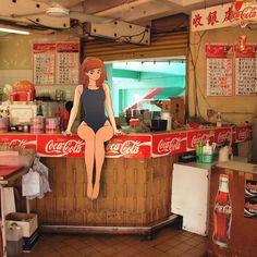 舊觀塘泳池快餐部 Kwun Tong, Hong Kong. (2007) #littlethunderlivesinhongkong