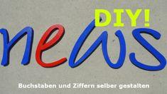 Taufgeschenk  DIY  von PAULSBECK Buchstaben, Dekoration & Geschenke auf DaWanda.com