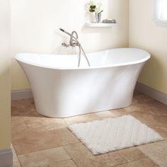 """71"""" Gaston Acrylic Freestanding Tub"""