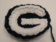 CROCHET PATTERN Green Bay Packers Crochet Applique