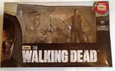 McFarlane The Walking Dead Daryl Dixon Chopper Motorcycle Action Figure crossbow