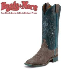 Justin Ladies Blue Haze Cowhide [BRL321] - $149.99 : Boots & More: Top Notch Boots at Rock Bottom Prices, We Price Match #boots #justin