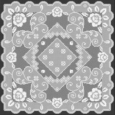 Filet Crochet Pattern by Filet Crochet Designs