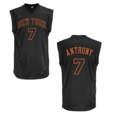 adidas Knicks Carmelo Anthony Revolution 30 Replica Black Jersey New York  Knicks dd68bd1a2