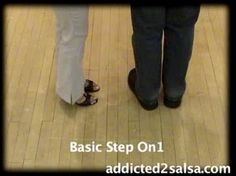 Learn the basic steps to salsa dancing free. This salsa dance video is a 'practice with us' salsa dance video. So, I hope you enjoy the basic steps to salsa dancing for beginners.