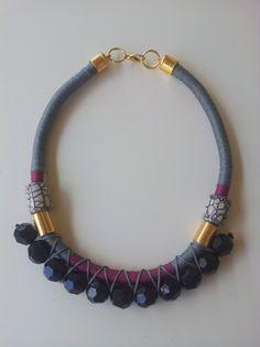 Anweisung Seil Halskette-Collier-Fashion von Nefelislittlestore