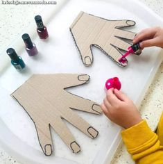 Projects for kids, crafts for kids, toddler crafts, diy for kid Motor Skills Activities, Toddler Learning Activities, Montessori Activities, Infant Activities, Kids Learning, Fun Activities, Montessori Materials, Fine Motor Activities For Kids, Fine Motor Skills