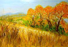 Obrazy - Jeseň za naším plotom - 1946049