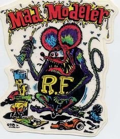 rat fink characters - Google Search