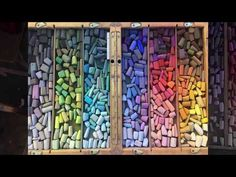 Pastel Painting - How to Render Glass in Pastel - YouTube