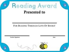 100+ BEE THEME END OF THE YEAR STUDENT AWARDS & CERTIFICATES: GRADES K ...