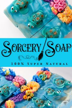 Soap making ideas from Sorcery Soap. Creative Ideas on cold process soap making from the soap witch using natural ingredients, soap dough, and soap micas. Gain a new perspective on crafting and soap making from Sorcery Soap. #soap #soapwitch #soapmaking #sorcerysoap #soapideas #soapdough #coldprocesssoap