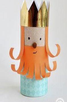ATIVIDADES EI: Arte com rolinhos de papel higiênico