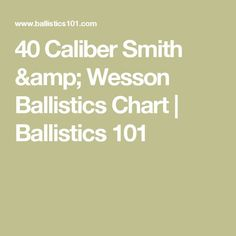 Winchester Ballistics Chart  Ballistics   Shooting And