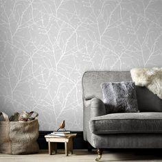Un papier peint gris, Graham&Brown