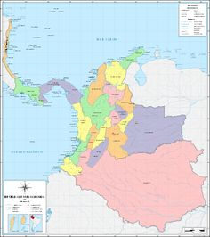 Provinces of the Republic of New Granada - Wikipedia, the free encyclopedia Granada, Colombia News, The Republic, Geography, America, Abstract, Travel, Countries, Free