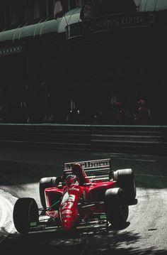 Jean Alesi, Ferrari, Monaco 1993