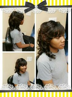 Sew-in by the BossLady! Www.styleseat.com/TerrieBranch  #BossLadyCosmetics #bosslady #TerrieBossLadyBranch #hamptonroads #haircuts #hairstylesbyterrie #weaves #rockwithme