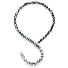 Mikimoto Multicolored South Sea Pearl Necklace