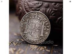 Spain 1776 Ancient Silver Coins Commemorative Coin New Free Ship Deko Investment Portfolio, Commemorative Coins, Silver Coins, Free Shipping, Personalized Items, Spain, Ebay, Pop, Deco