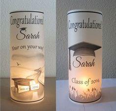 10 Personalized Graduation Party Centerpiece by LuminariesbyJanet