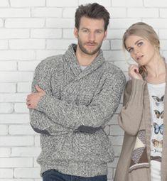 Photo patron gratuit tricot pull homme