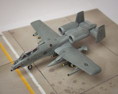 Fairchild A-10A Thunderbolt II, 23rd Wing; Flagship of 75th Fighter Squadron, Pope AFB, North Carolina, USA, June 1995, 1/144, Revell