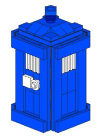 Build Your Own Lego Tardis - Includes a Downloadable Instruction Set and Brick List