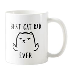 Our adorable cat mugs make great gifts for cat loving people at any time of the year. Get your fill with a sweet or funny cat mug that will brighten your day. Cat Lover Gifts, Cat Gifts, Cat Lovers, Cat Themed Gifts, Cat Dad, Brighten Your Day, Love People, Cool Cats, Funny Cats
