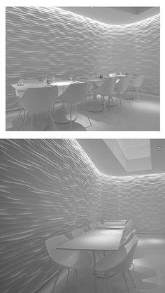 wavy wall texture