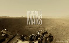 Welcome to Mars. Enjoy your stay.