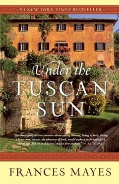 Frances Mayes buys and restores an abandoned villa in the spectacular Tuscan countryside. In evocative language, she brings the reader along as she discovers the beauty and simplicity of life in Italy. Mayes also creates dozens of delicious seasonal recipes from her traditional kitchen and simple garden, all of which she includes in the book.