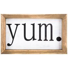 Yum Wood Sign | Hobby Lobby