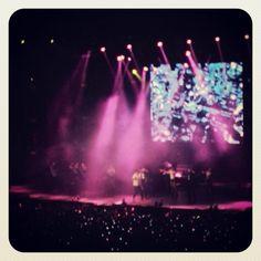 a pesar de la distancia estuvo genial el #Show #DeportistasPorUnSueño #Jadiel #MovistarArena #Live #concert #TSR