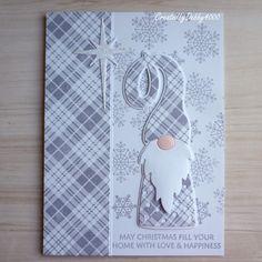 A Scrapjourney: Purple Gnome Simon Says Stamp Stamped Christmas Cards, Xmas Cards, Diy Cards, Handmade Christmas, Holiday Cards, Craft Cards, Joker Cosplay, Portfolio Design, Mini Albums