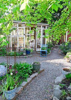 Pergola Kits With Canopy Gravel Garden, Summer Garden, Garden Paths, Vegetable Garden, Backyard Sheds, Backyard Retreat, Backyard Landscaping, Garden Studio, Garden Planning