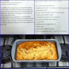 TRIED | Banana Bread recipe