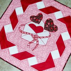 Be Mine Valentine Quilt