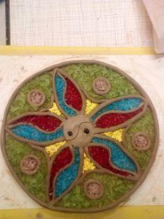 Mandala,keramika