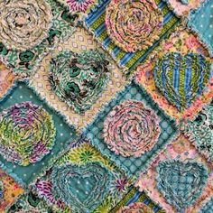 Looking for your next project? You're going to love Rag quilt ~ Diamonds in the Rough by designer itssewsally.