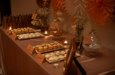 Elegant Lolly Buffet. http://www.forevaevents.com.au/portfolio/golden-dreams/