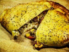 Pieróg Calzone to doskonale sycąca potrawa. Smakosze pizzy i włoskiej kuchni będą nim na pewno zachwyceni. Pieróg Calzone jest przepyszny!