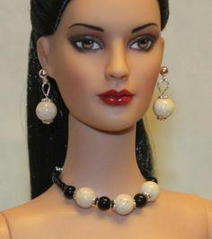 """Cookies & Cream"" Jewelry Set for Tonner Tyler Ellowyne Dee Anna Gene Sybarite"