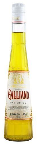 Galliano L'Autentico Liqueur named for Giuseppe Galliano an Italian war hero. Made with vanilla, citrus, ginger and anise. (Italian)